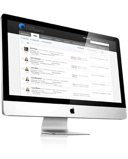FilesAnywhere User Management